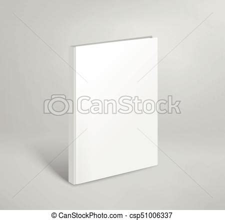 thin book template 3d blank thin book vector mockup paper book template
