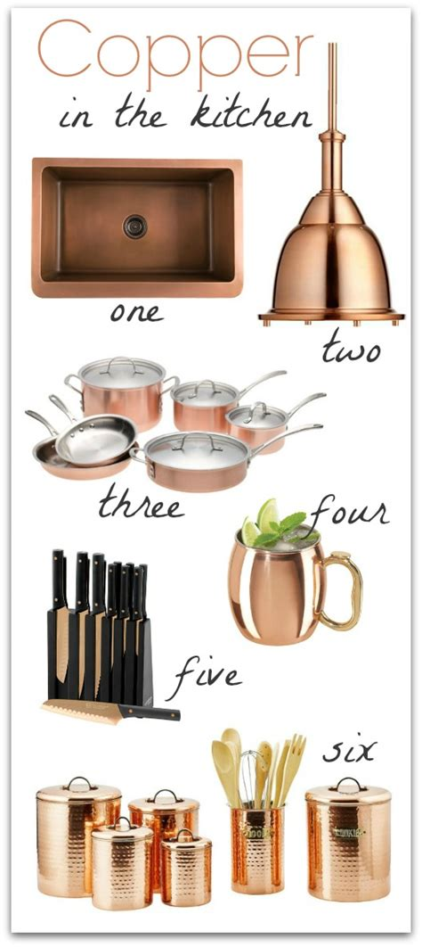 Ideas For Decorating Kitchen Countertops - copper in the kitchen driven by decor