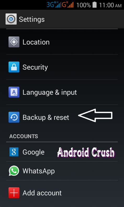 reset android phone how to reset android phone to or factory settings