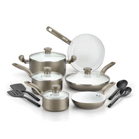 cookware ceramic fal champagne initiatives nonstick piece sets non stick pc lid kmart kohl reg walmart pieces sears cooking kohls