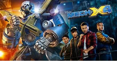 Mech X4 Disney Xd Mechx4 Episode Season