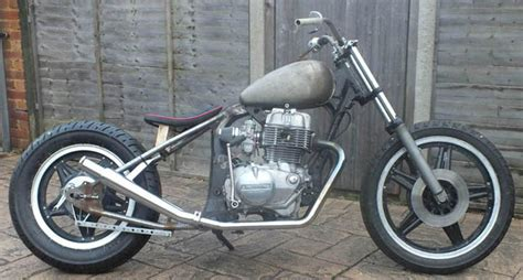 Honda Cb Superdream Custom Bobber Hardtail Chopper Frame