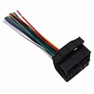 Car Stereo Radio Wiring Harness Receiver For Bmw 2007