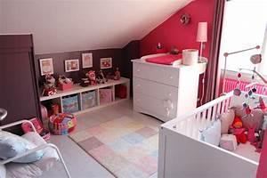 deco chambre bebe fille violet With deco chambre bebe fille violet