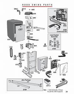 Gate Operator Parts Elite Swing Openers Parts Robo