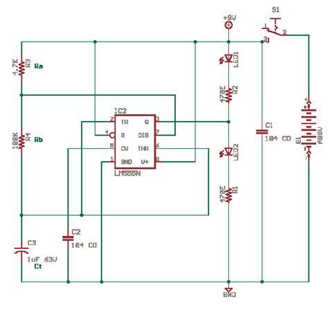 Schematics Delabs Circuit Diagrams Astable