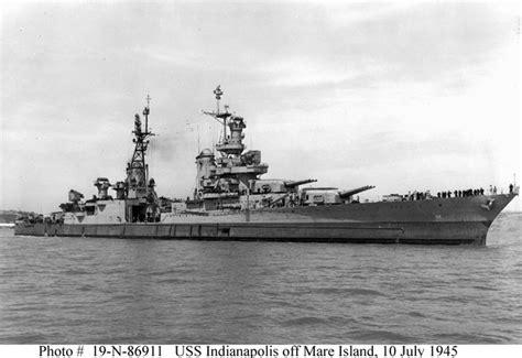 uss indianapolis ca  heavy cruiser warship image pic