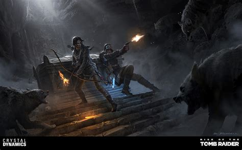 Tomb Raider Concept Art By Brandon Russell 145 Escape