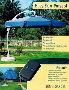 sun garden easy sun parasol ampelschirm 350 8 sonnenschirm With katzennetz balkon mit sun garden eu