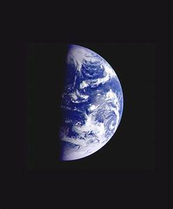 Space Images   Earth - Departing Image by Galileo