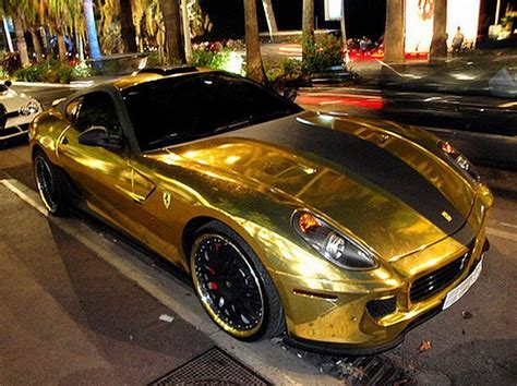 golden ferrari wallpaper golden ferrari 599 gtb from hamann 18 pics 1 video
