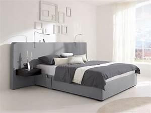 Tete De Lit Moderne : 20 lits design pour une chambre moderne elle d coration ~ Preciouscoupons.com Idées de Décoration
