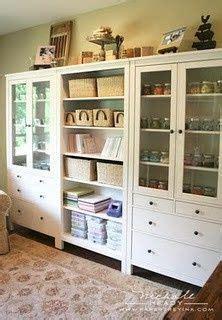 Ikea Hemnes Bathroom Cabinet Hack by Craft Room Organization On Pinterest Ink Pads Ribbon