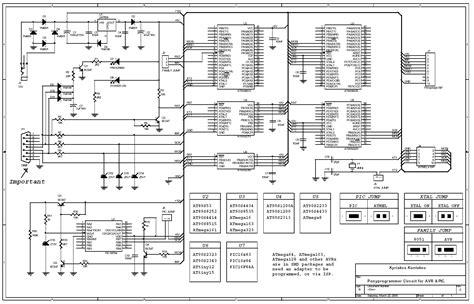 ponyprog circuit  avr picf electronics lab