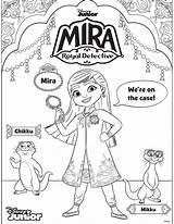 Mira Detective Coloring Detetive Colouring Colorir Template Sketch Arteira Lu sketch template