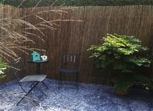 Bambusleisten Natur Sichtschutzmatten