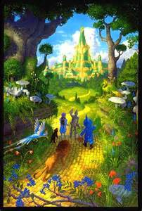 Emerald City Wizard of Oz Road