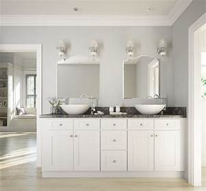 Brilliant White Shaker - Ready to Assemble Bathroom