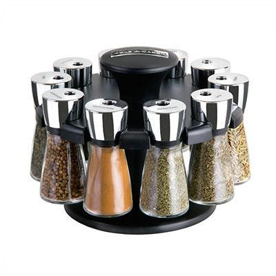 Pre Filled Spice Rack by Cole Herb And Spice Rack With Spices Revolving