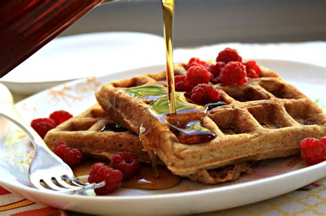 molasses flax waffles an old recipe updated crosby s molasses