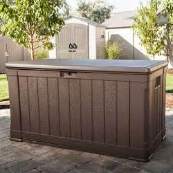 lifetime outdoor deck storage box 116 gal sam s club