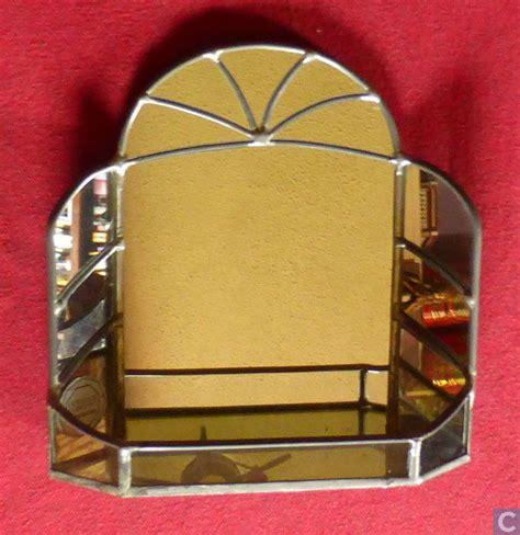 spiegel deco deco spiegel glas in lood octagon catawiki