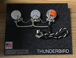 Gibson Thunderbird Bass Harness  Cts  Switchcraft  Gavitt