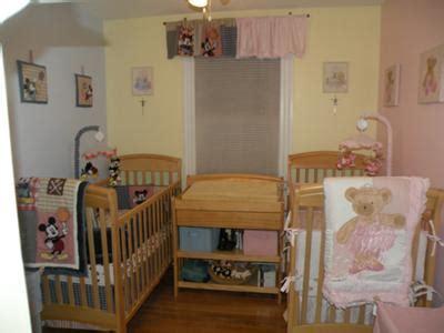 boygirl twins blue pink nursery