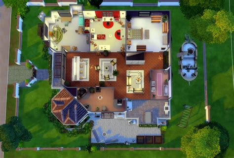 dream home palace sims  houses