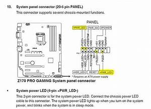 Halp With Front Panel Connections