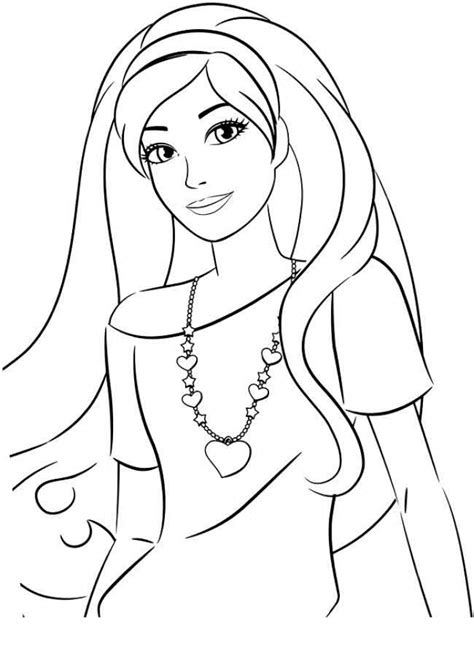 printable image  barbie coloring pages tom