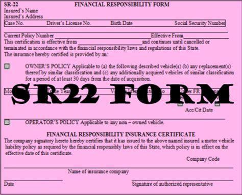 ca dmv sr22 form dmv sr 22 form templates and letters corner