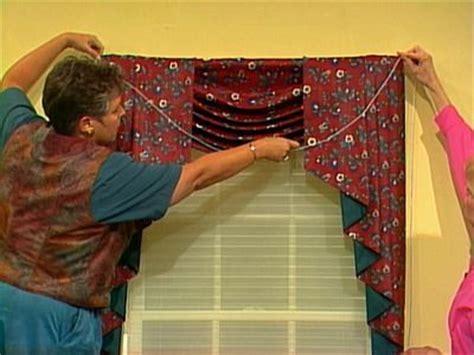 swag  jabot curtainswindow dressing