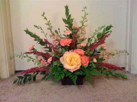 fan arrmangement hannahs floral design