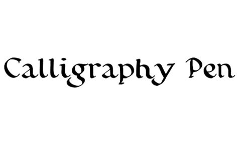 collection  beautiful calligraphy fonts blueblotscom