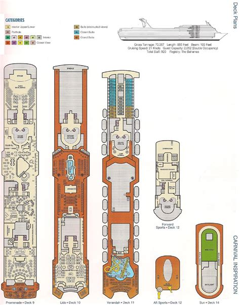 carnival ship inspiration deck plans 28 awesome carnival cruise ship inspiration deck plans