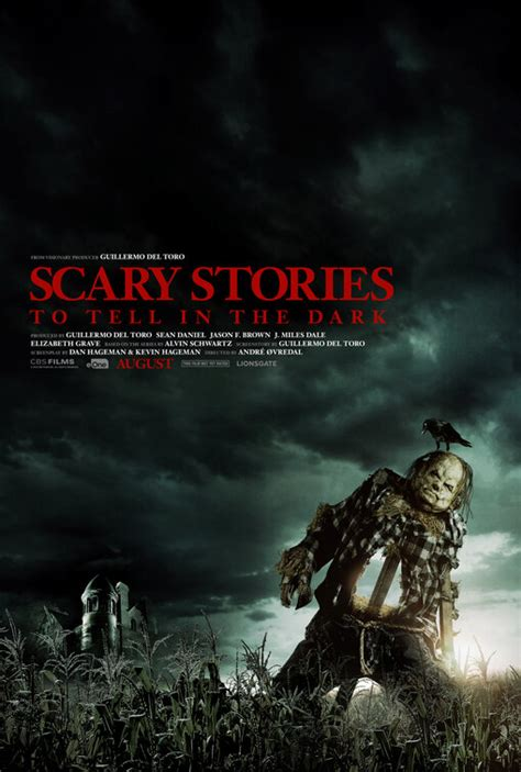 scary stories     dark  poster