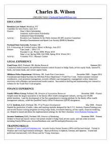 resume objective sports management charles b wilson charles wilson financial resume