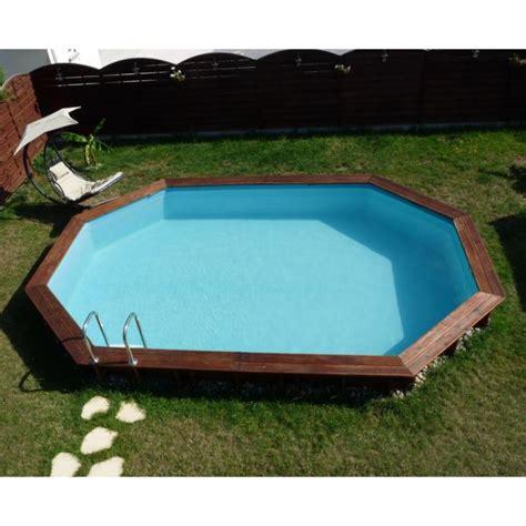 piscine ovale semi enterr 233 e pas cher