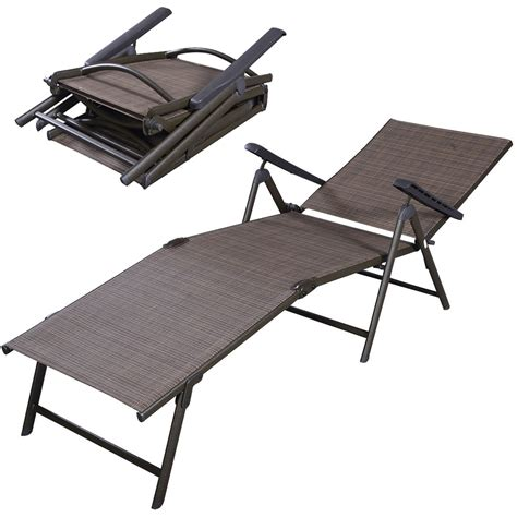 chaise cing decathlon folding patio lounge chair outdoor folding lounge chair