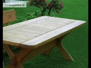 Gartentisch Aus Holz : gartentisch aus holz youtube ~ Eleganceandgraceweddings.com Haus und Dekorationen