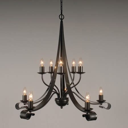 Iron Chandelier Uk by The Somerby 2 Tiered 10 Arm Wrought Iron Candle