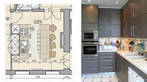 Idee implantation cuisine ouverte cuisine en image for Cuisine avec salle a manger intégrée pour petite cuisine Équipée