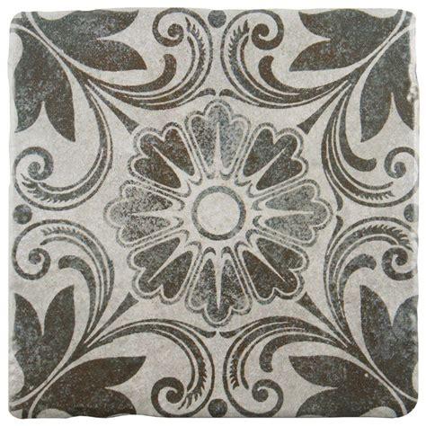 home depot merola tile twenties merola tile twenties classic 7 3 4 in x 7 3 4 in ceramic