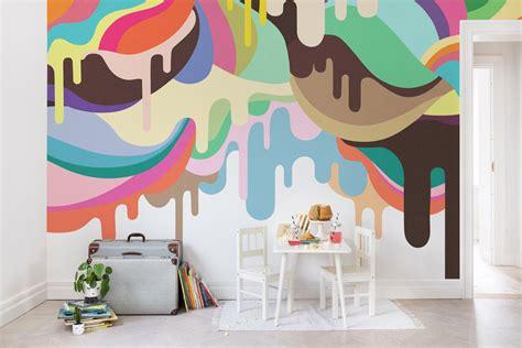tapete dripping ice cream von rebel walls