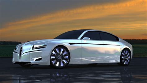 Electric Sedan by Chreos Luxury Electric Car 621 Mile Range Supposedly