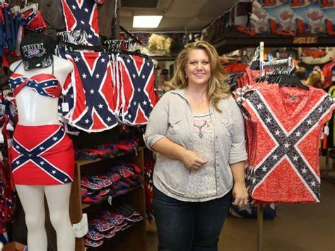 woman   rebel flag isnt racist  ties  kkk