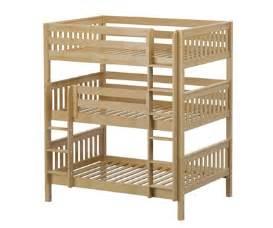 maxtrix triplex full triple bunk bed bed frames matrix