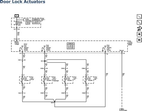2008 Impala Wiring Diagram by 2008 Impala Door Lock Actuator Wiring Diagram Wiring