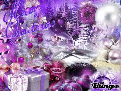 merry christmas purple ornaments pictures photos and images for facebook pinterest